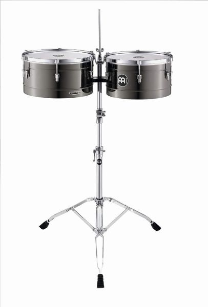 Meinl 14 x 15-inch Marathon Series Timbales - Black Nickel - MT1415BN